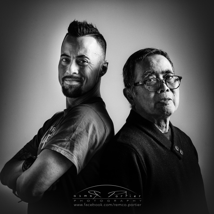 Remco Portier & vader